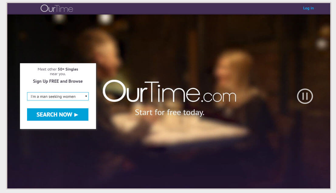 Cost of ourtime dating site
