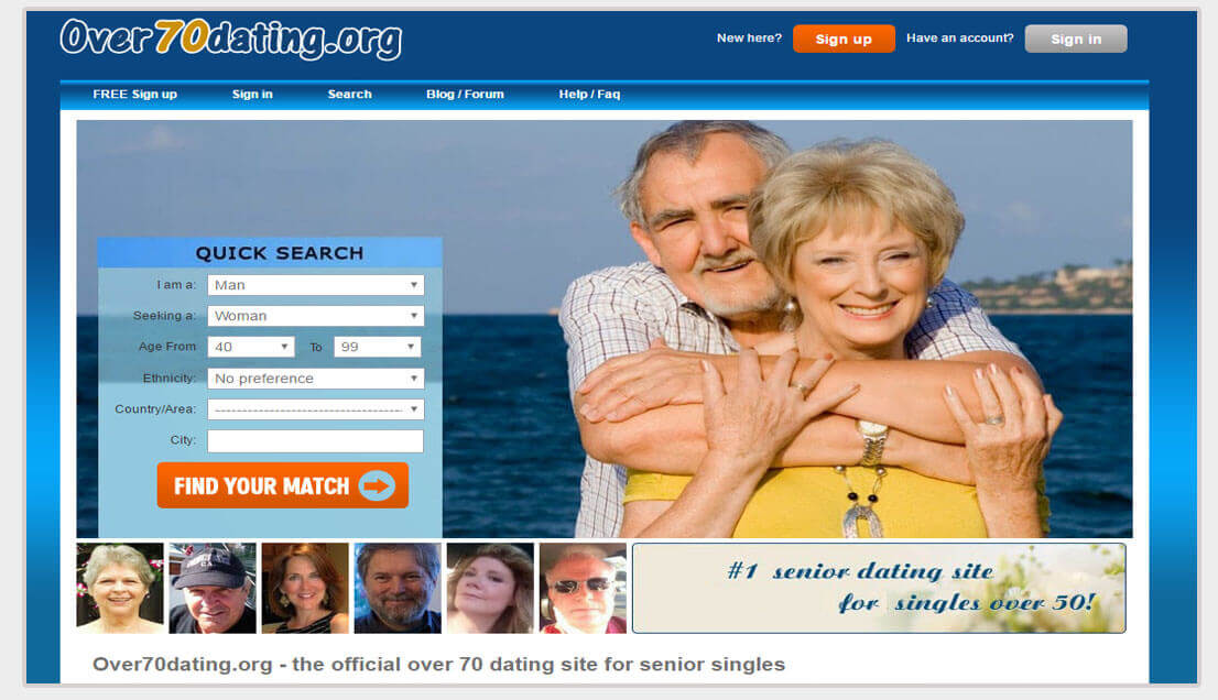 dating for seniors free